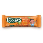 Baton din cereale Organix Goodies, Morcov, Mere, de la 1 an