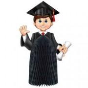 Boy Graduate Centerpiece Party Accessory (1 count) (1/Pkg)