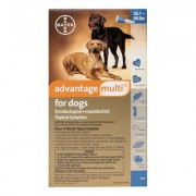 Advantage Multi (Advocate) Extra Large Dogs 55.1-88 lbs (Blue) 12 DOSES