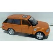 Kinsmart 1/38 Scale Diecast Pullback Range Rover Sport In Color Orange
