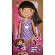 DORA ROCKS! Rock Star Dora 9 Poseable Doll 2013
