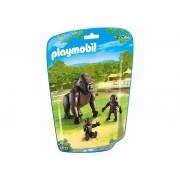 6639 Playmobil Gorila Cu Pui