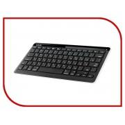 Клавиатура беспроводная Delux DLK-2001GB Black
