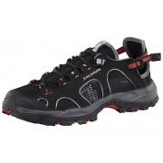 Salomon Techamphibian 3 Water Shoes Women black/dark cloud/papaya 2017 42 Wassersportschuhe