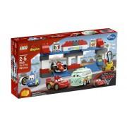 LEGO DUPLO The Pit Stop 52pieza(s) - juegos de construcción (Multicolor)