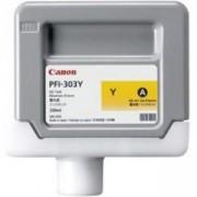 Мастилена касета Canon Ink Tank PFI-303Y for iPF810 iPF820 330ml, CF2961B001AA