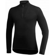Woolpower 400 Zip Turtleneck Unisex black 3XL 2017 Langarm Shirts