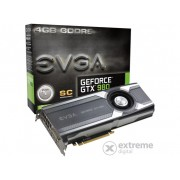 Placa video EVGA nVidia GTX 980 4GB DDR5 (Superclocked) - 04G-P4-1982-KR