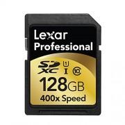 Lexar C10 Scheda di Memoria SD da 128GB, Nero