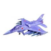 Gi Mix Gi Gaf03 1/144 Scale Girly Air Force F 2 A Viper Zero Jet Blue Plastic Model Kit Figure Collection Mecha Fighter Toy Airplane Aeroplane Us Royal Aircraft Plane Decor Jas39 D Takara Tomy Tomytec