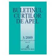 Buletinul Curtilor de Apel, Nr. 3/2009.