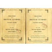 The Old Wive's Tale, 2 Volumes (Tauchnitz Edition, Collection Of British And American Authors, Vol. 4102, 4103)