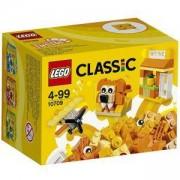 Конструктор ЛЕГО Класик - Оранжева кутия за творчество - LEGO Classic, 10709