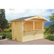 Kiosko de madera STELLA 2 de 273 x 190 cm. para Jardín
