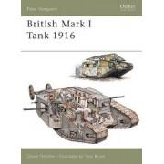 British Mark I Tank 1916 by David Fletcher