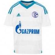 adidas Fantrikot FC SCHALKE 04 AWAY - white/bold aqua/clear grey|XS|Kurzarm