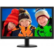 "Monitor LED Philips 23"" 233V5LHAB, Full HD (1920 x 1080), HDMI, Boxe (Negru)"