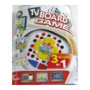 TV Plug and Play Classic Board Game Connect 4 Boggle Roll Over 3 Games in 1