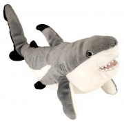 "Wild Republic 15"" Cuddlekins Black Tipped Shark"