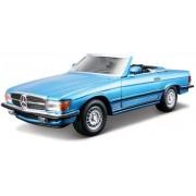 Mercedes-Benz 450 SL - albastru - scara 1:32 - Colectia Street Clasic