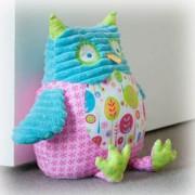 Pillow Palls Door Stop - Owl