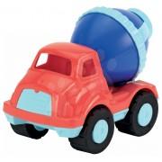 Écoiffier maşină mare - betonieră D17217-2 roşu-albastru