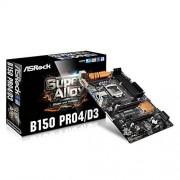 Asrock B150 Pro4/D3 Carte mère Intel B150 Socket 1151 Noir