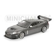 2008 Jaguar Xkr Gt3 Grey Metallic 1/18 By Minichamps 150081390