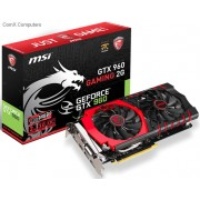 MSI nVidia GeForce GTX960 Gaming 2GB GDDR5 128-Bit Graphics Card