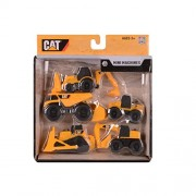 Toy State Caterpillar Construction Mini Machine 5-Pack (Styles May Vary) By Mpa