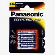 Blister de 4 pilas Alcalinas Panasonic AAA LR3