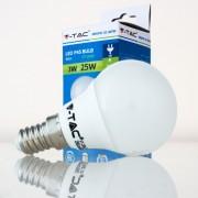 Lâmpada LED E14 3w»25W Luz Natural 250Lm P45 GOLFBALL