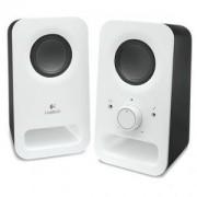 Тонколони Logitech Z150 Multimedia Speakers - Snow white - 980-000815