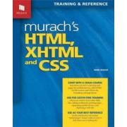 Murach's HTML, XHTML & CSS by Anne Boehm