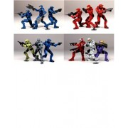 """HALO Heroic Collection 3-Pack 2009 Wave 1 (8ct.) 3"""" 8cm [Edizione : Germania]"""