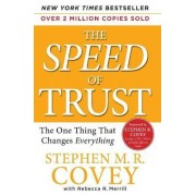 Speed of Trust by Stephen M R Covey