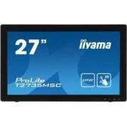 Monitor LED 27 Touchscreen Iiyama T2735MSC-B2 Full HD 5ms Negru