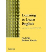 Learning to Learn English Learner's book by Gail Ellis