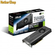 ASUS Nvidia Geforce TURBO-GTX1060-6G 6GB DDR5 PCI Express Videokártya (3 év garancia)