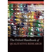 The Oxford Handbook of Qualitative Research by Patricia Leavy