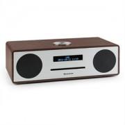 auna Stanford DAB-CD-rádió, DAB+, bluetooth, USB, MP3, AUX, FM, diófa szín (VB5-Stanford WN)