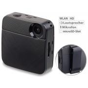 Mini-HD-Selfie- & Body-Cam mit WLAN & Livestream-Funktion für YouTube