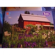 Big Ben Willamette Valley OR Red Barn 1000 piece Puzzle