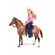 Breyer Western Horse & Rider - Brown - 61070