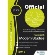 SQA Specimen Paper National 5 Modern Studies and Model Papers 2013 by SQA