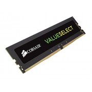 Corsair CMV8GX3M1C1600C11 Value Select Memoria per Desktop Mainstream da 8 GB (1x8 GB), DDR3L, 1600 MHz, CL11, Nero