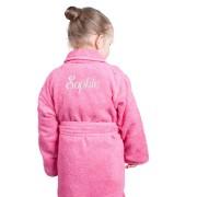 Kinderbadjas - Roze (110-116)