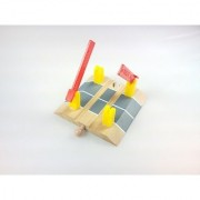 4 Railroad Crossing Track fits Thomas Wooden Railway and Brio tracks and sets