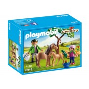 Playmobil Country, Veterinar cu ponei si manz