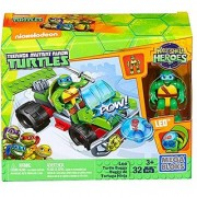 Mega Bloks Teenage Mutant Ninja Turtles Half-Shell Heroes Leo Turtle Buggy